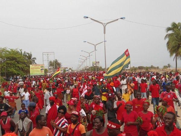 Le peuple togolais en marche vers la liberté